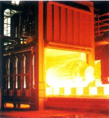 ran气式台车炉