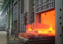12×3mgao温台车式燃气炉