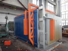 大型炉体移动电阻炉shi工现场